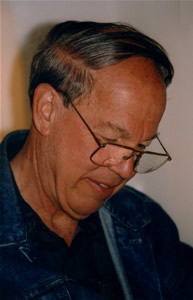 Photo of Harold Schiffman. Salzburg, Austria (23 June 1999) Photograph by Imre Rohmann